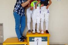 Vainqueurs U8 / U10 / U12 + le maître